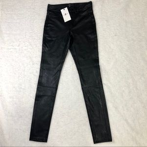 🆕 7 For All Mankind Faux Leather Skinny Pants